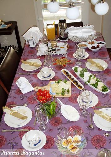 Seda'nın Kahvaltı Sofrası