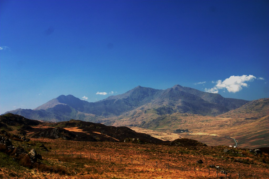 The Snowdon range from Moel Siabod