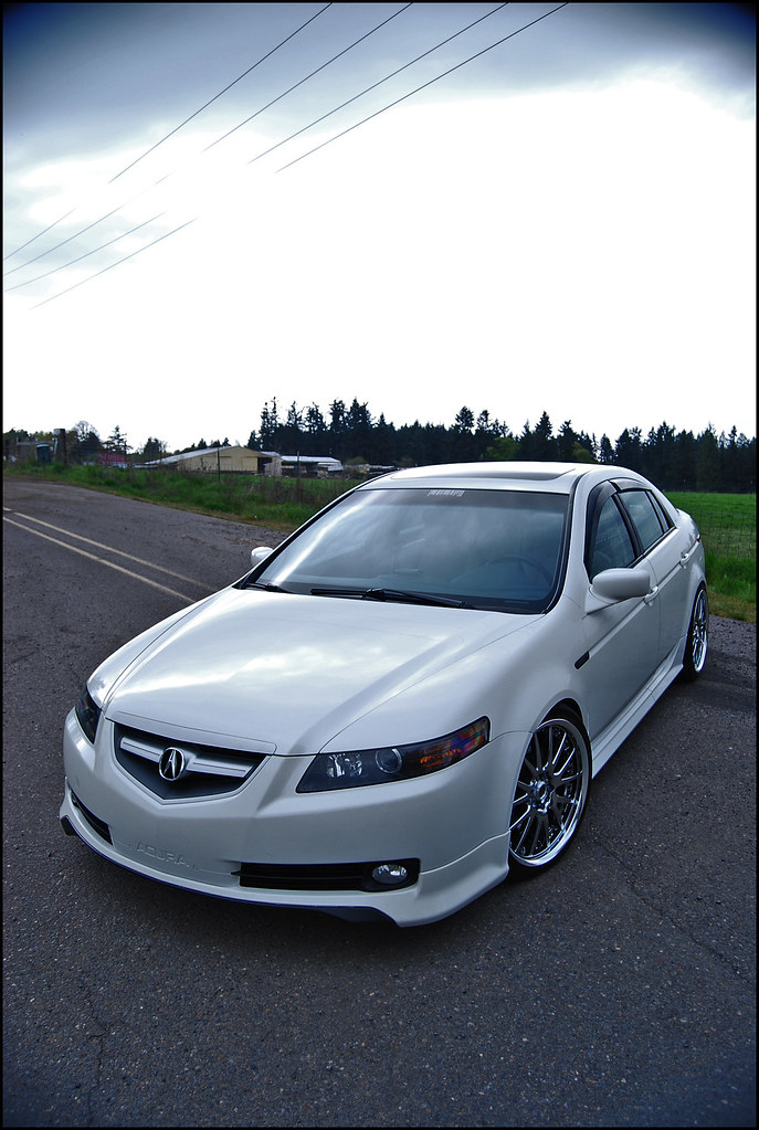 Got JnCs Custom Headlights Post Pictures Here AcuraZine Acura - 2004 acura tl custom