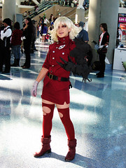 Seras Victoria from Hellsing (valwat) Tags: costumes red anime losangeles blood expo cosplay vampire victoria convention videogame 2009 hellsing animeexpo seras serasvictoria animeexpo2009