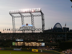 SafeCo and Quest (GigHarborRevealed) Tags: seattle mariners safeco ichiro