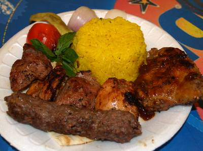 Lebanese mixed-grill