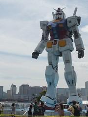 Real scale Gundam constructed at Odaiba, Tokyo (8tokyo.com) Tags: tokyo robot odaiba gundam 8tokyo
