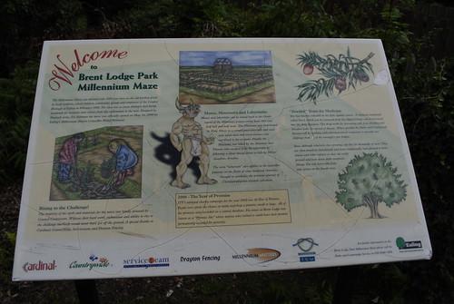 Brent Lodge Park maze