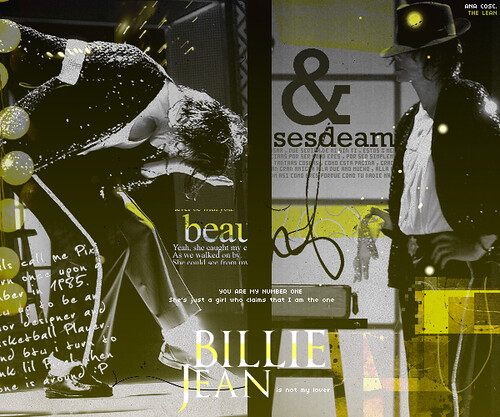 Billie Jean - Michael Jackson by TheLean.