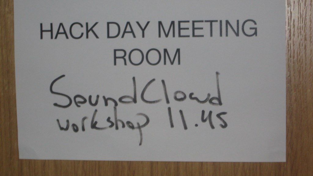 Music Hack Day - SoundCloud workshop