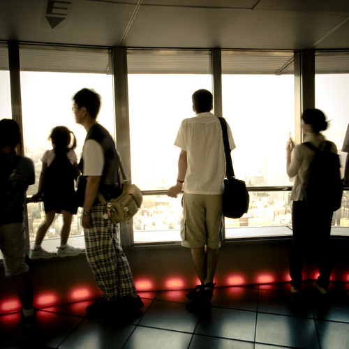 Looking Out, Tokyo Tower