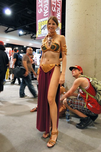 princess leia slave cosplay. Star Wars - Slave Leia