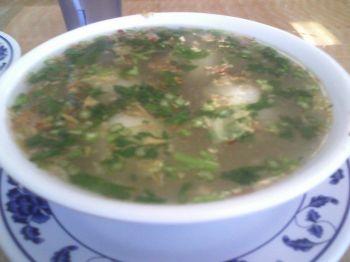 Yung Ho Rice Ball Soup