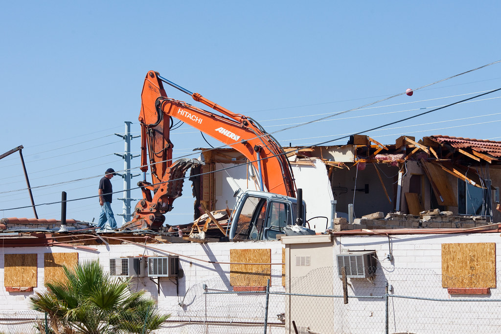 The Destruction of the American Motel