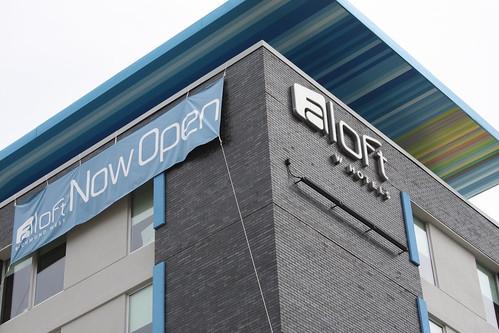 Aloft Hotel Opening