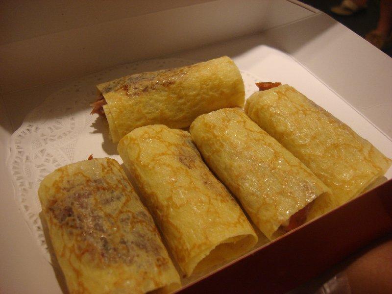 Mod Peking Duck rolls