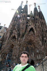 Sagrada Familia(Barcelona) (Amir Maljai( )) Tags: barcelona spain nikon europe d200 sagradafamilia amirmaljai europe2009