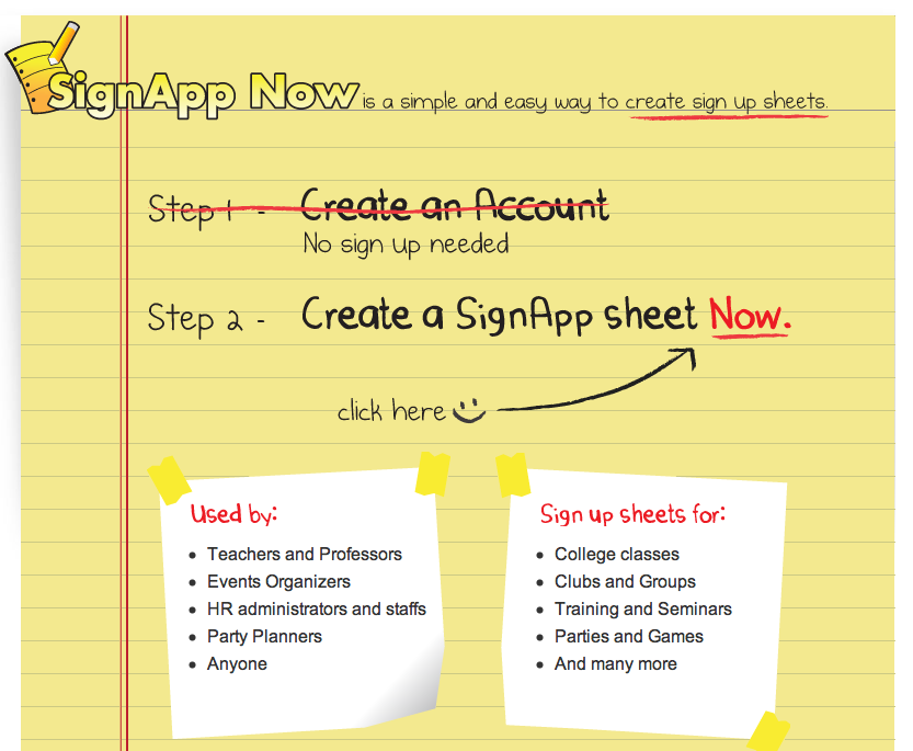 SignApp Now - Simple Sign Up Sheets