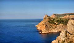 Balaklava, Crimea 2009 (Full HDR) (  (Subliminal db)) Tags: sea sky water nice aqua natural pano bluesky subliminal blacksea hdr krimea olympuse520 fullhdr