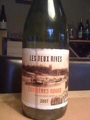 2007 Les Deux Rives Corbieres Rouge