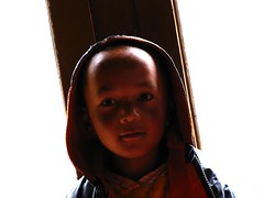 Little devil. (Unlisted Sightings) Tags: incense ladakh hemis ladakhivillage babytrek hemisshukpachen ladakh2009 endoftrek twodayhomestay sonamji