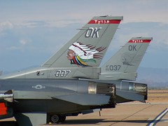 General Dynamics F-16C  Fighting Falcon 89-2007 89-2037 (jackmcgo210) Tags: f16 generaldynamics fightingfalcon kiwa f16c 892007 138thfighterwing generaldynamicsf16cfightingfalcon 892037 125thfightersquadron generaldynamicsf16cblock42efightingfalcon f16cblock42e