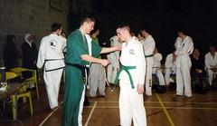 UCD TKD Club Competition - UCD Sports Centre (January 2003) (irlLordy) Tags: 2003 ireland dublin lynch dan club january competition taekwondo barry doyle tkd ucd sportscentre mrlynch