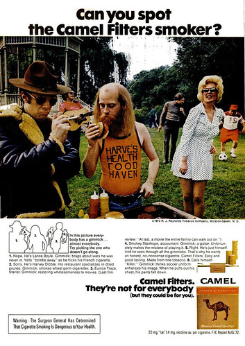 Camel Ad (Popular Science - January 1973) by Fugue.