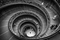 *** (let's fotografar) Tags: italy vatican rome roma museum stairs italia museu vaticano escada vaticanmuseum rampa museudovaticano