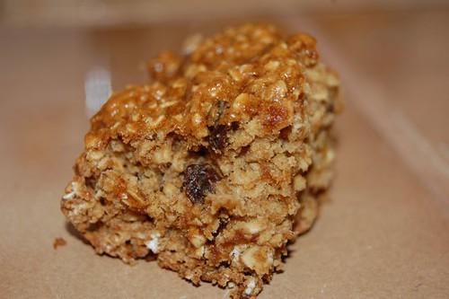 oatmeal raisin breakfast bar