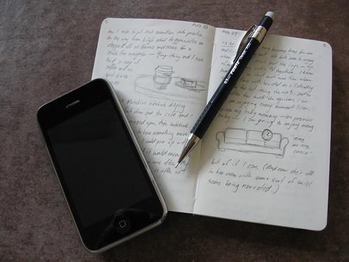 Pen, Paper, Phone