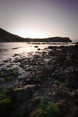 Lulworth cove (coplandphotography.co.uk) Tags: morning sea sun seaweed water boats sand rocks stones gary copland nikond90lulworthcovesunrise leefilters09grad garycoplandphotography