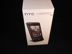 HTC Hero (foto door: PiAir (Old Skool))