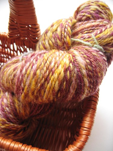 Handspun - Spindlefrog Artichoke colourway