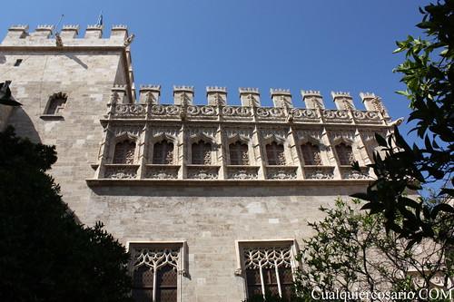 La Lonja de Valencia ( V )