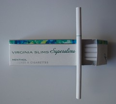 New tipping design back (Capri Superslims) Tags: virginia pack slims menthol virginiaslims superslims pursepack