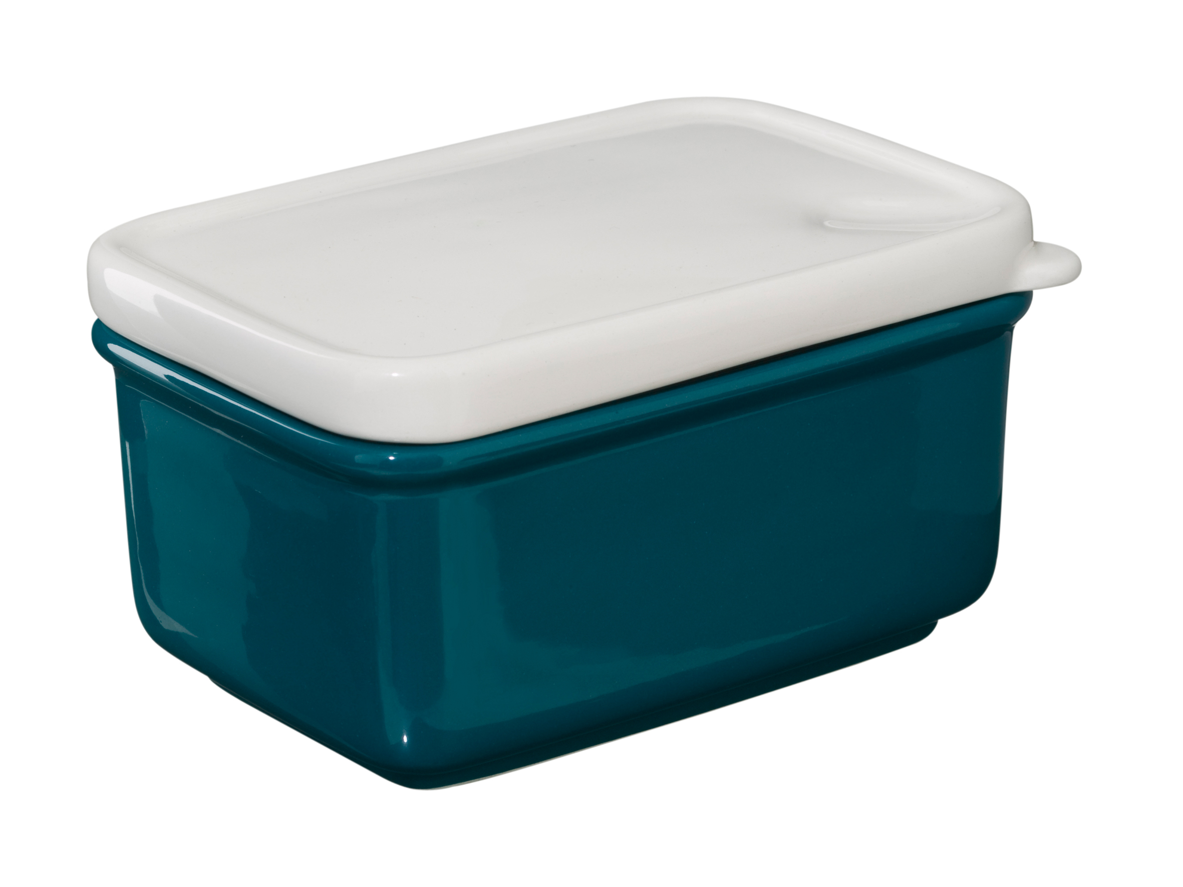 Butter Dish - Is that Plastic? - Petrol Blue