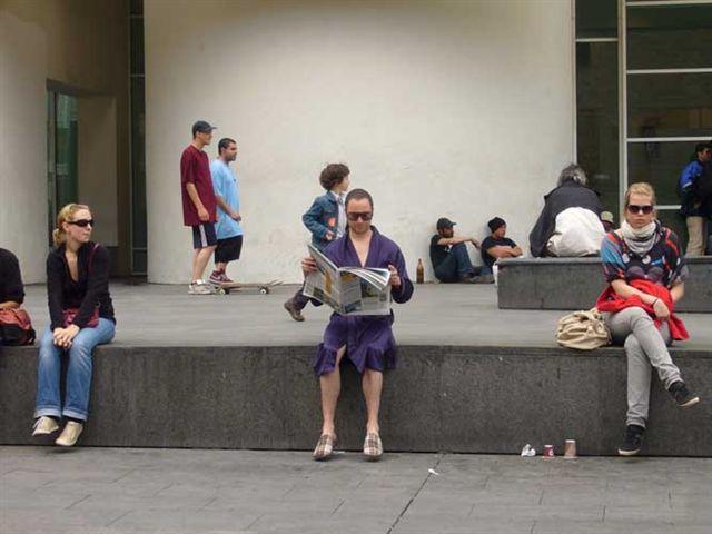 Quim Pujol:Performer en zapatillas