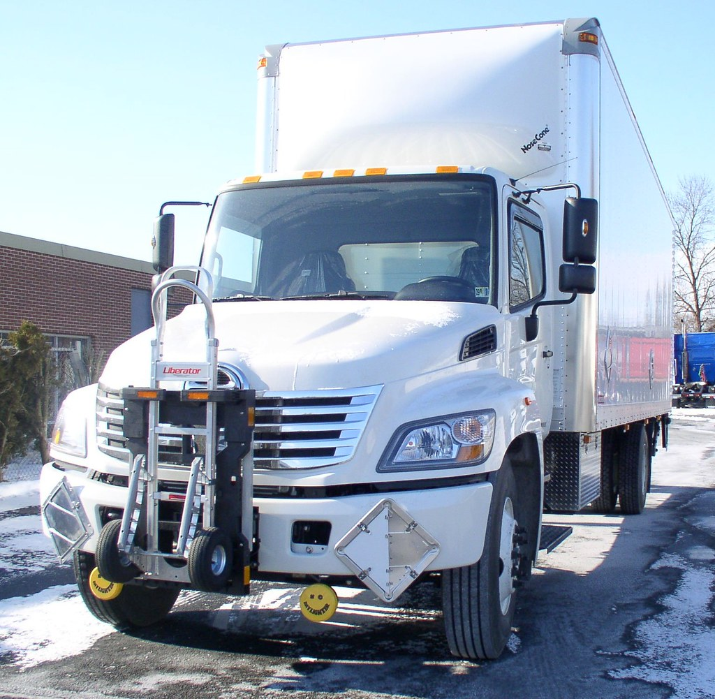 Toyota Trucks Hino 338 B&P Liberator parcel hand truck