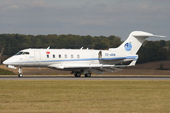 TC-ARB - Arkasair - Bombardier BD-100-1A10 Challenger 300 - Luton - 090929 - Steven Gray - IMG_9732