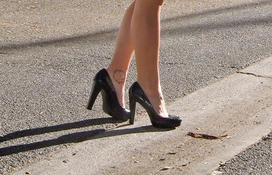 calvin-klein-snakeskin-platform-heels