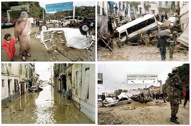 Inondations a Bab El Oued 2001