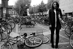 100 strangers project, picture 46 of 100 (Just a guy who likes to take pictures) Tags: city portrait people urban bw en woman white black fall girl monochrome station fashion bike female train project germany bag deutschland und europa europe phone boots maria feminine coat femme transport panty strangers bikes bahnhof tights portrt db hauptbahnhof jacket stadt infrastructure estacion alemania 100 frau portret bahn zwart wit weiss osnabrck schwarz fahrrad nylon fietsen stad duitsland fiets deutsche vos fahrrder zw strumpfhose osnabrueck weis osnabruck collant infrastructuur osna collants nwb statiom 100strangers osnabrugge