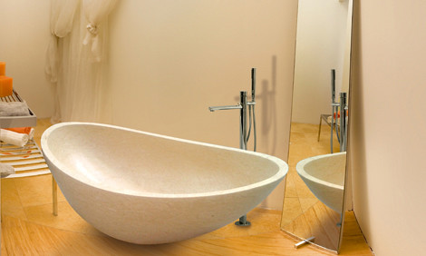Oyster Tub for Elegant Bathroom Design
