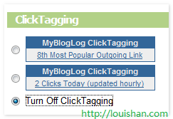 ClickTagging