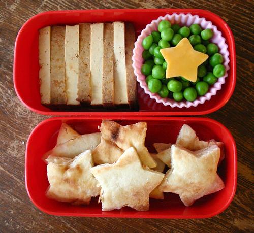 Kindergarten Bento #246: October 8, 2009