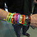 Nice collection of Assembly wristbands