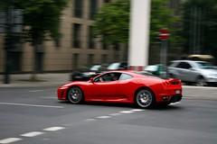 Ferrari F430. (klaas brink) Tags: germany deutschland klaas dusseldorf panning duitsland f430 brink ferreri kbrink