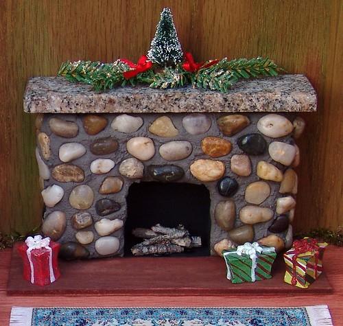 Miniature Dolls House Fireplace