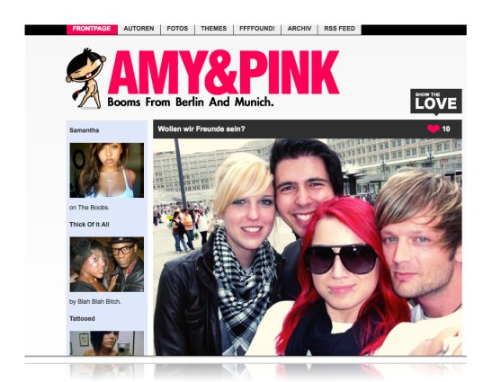 amy & pink