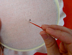 Backstitch Step 1