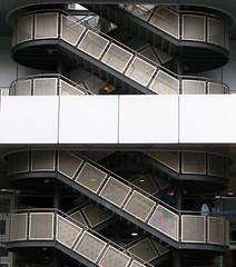 Stairs (jasalinas) Tags: stairs germany deutschland frankfurt escaleras treppen blueribbonwinner