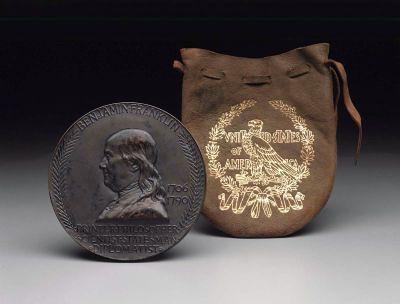 Saint-Gaudens Franklin Bicentennial medal