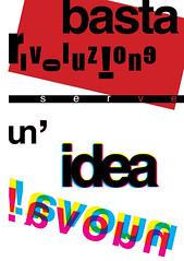 (Movimento Basta) Tags: poster design milano comunicazione poli basta politecnico polimi bastadirebasta movimentocreativo movimentobasta giuliopierrottet